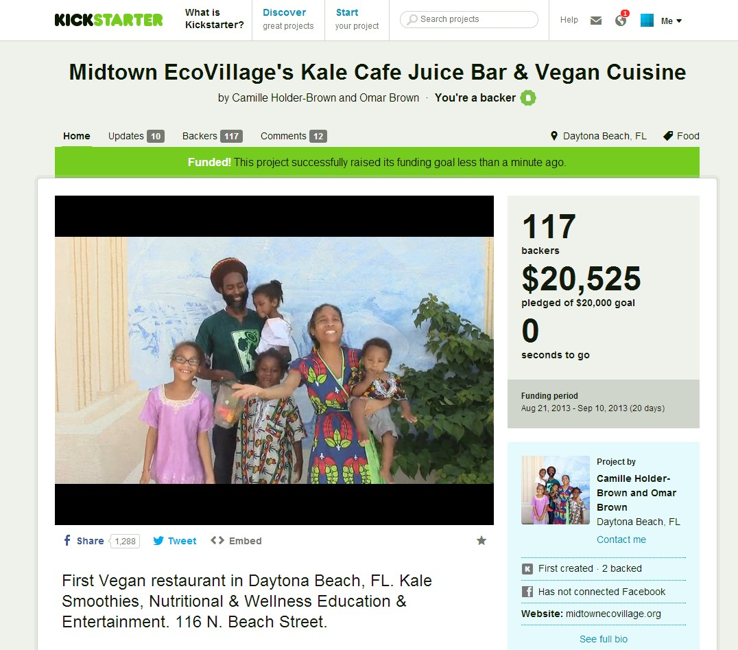 Kale Cafe Juice Bar Daytona Beach FL