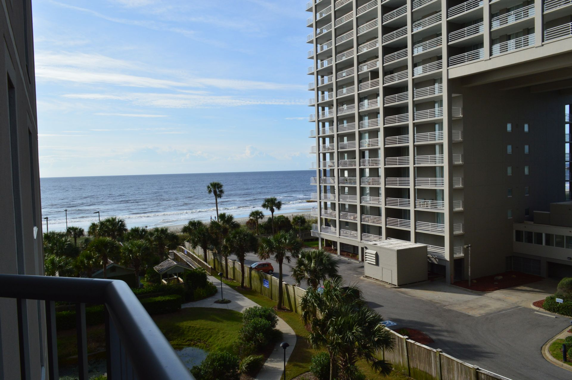 Hilton Myrtle Beach view from balcony