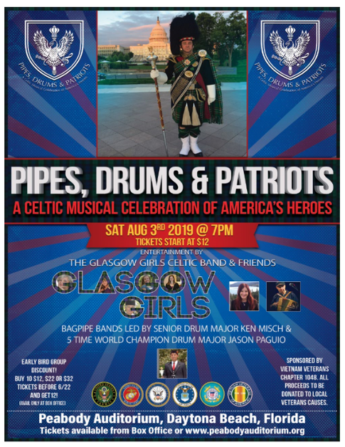 Pipe & Drums @ Peabody Auditoriu