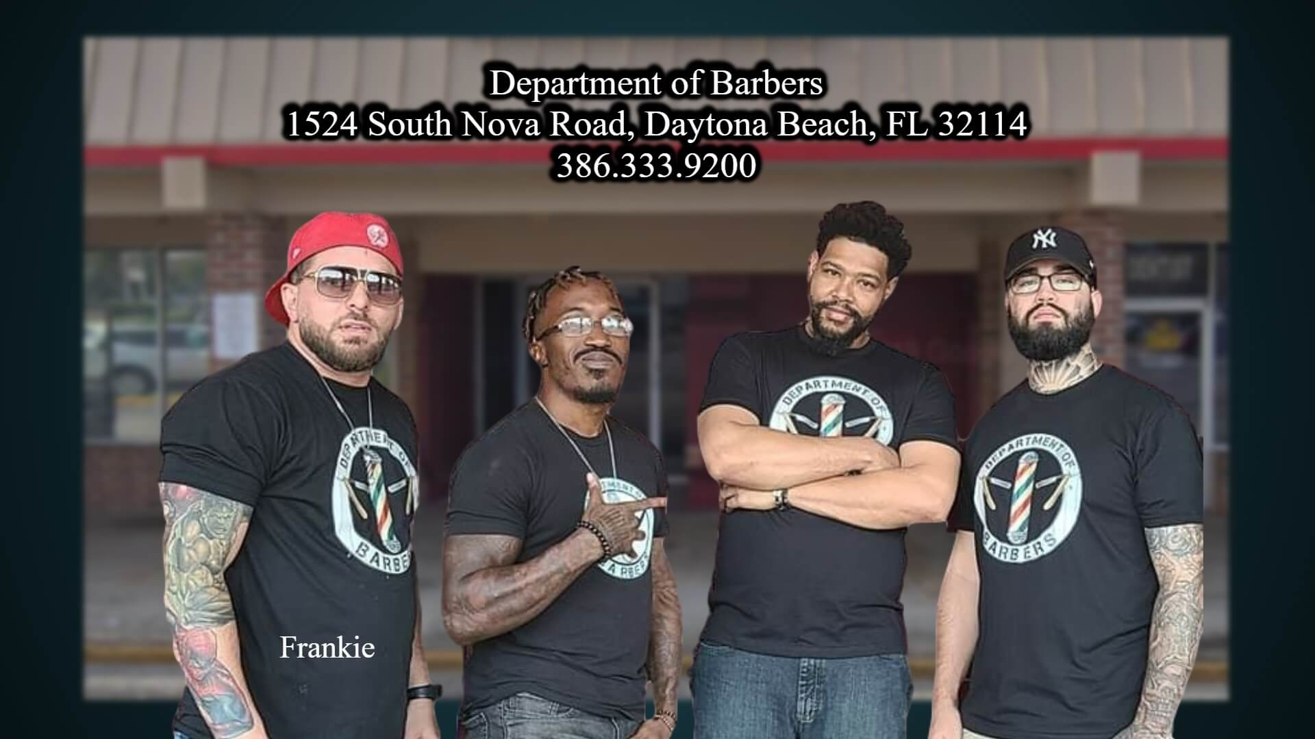 Department of Barbers Daytona Beach Florida