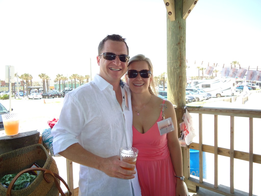 Jason Clarke and Jennie Asdal
