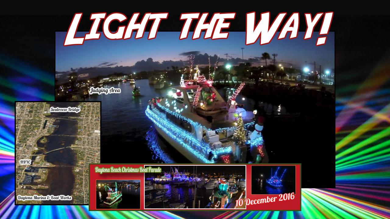daytona beach christmas boat parade 2016