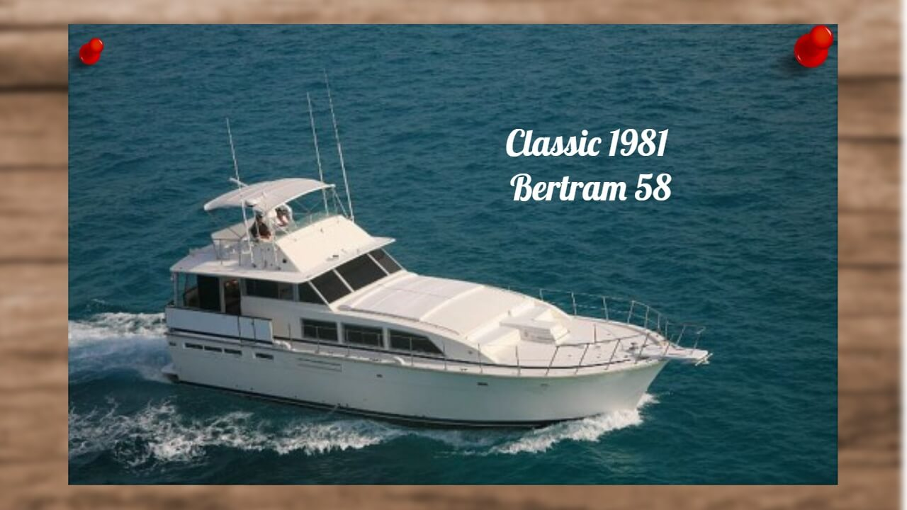 Classic MotorYacht For Sale