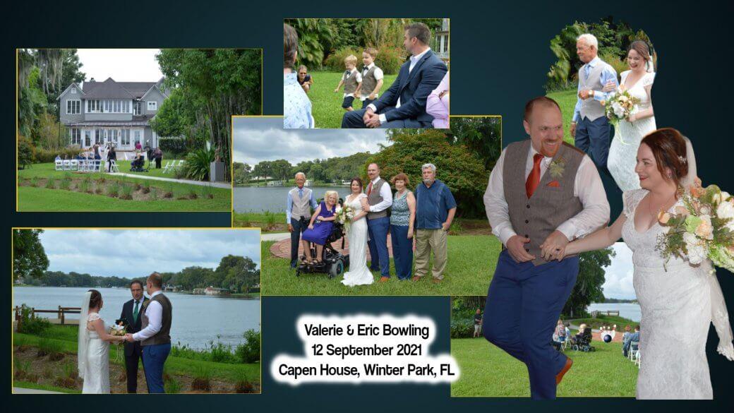 Valerie Clarke & Eric Bowling Wedding